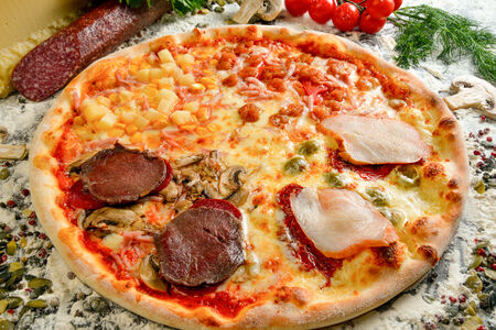 Пицца Кватро вердэ