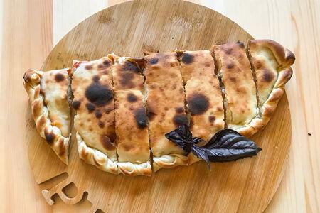 Пицца Деревенская с картофелем и грибами