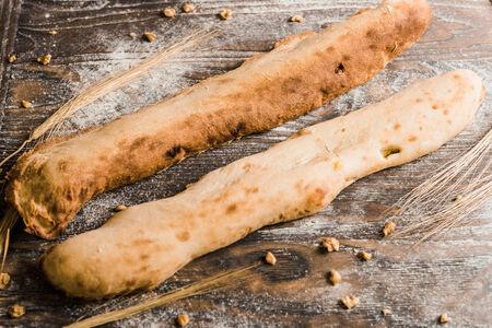 Багет по-грузински с индейкой и сыром
