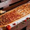 Фото к позиции меню Пицца Четыре мяса метровая