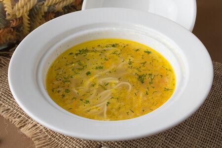 Суп Лапша по-домашнему