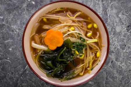 Суп Сею рамэн с овощами