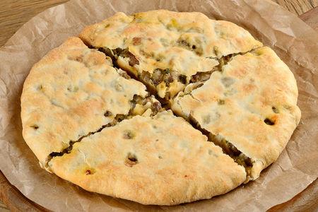 Сванский пирог Кубдари