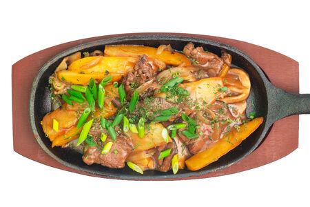 Сковородка с говядиной