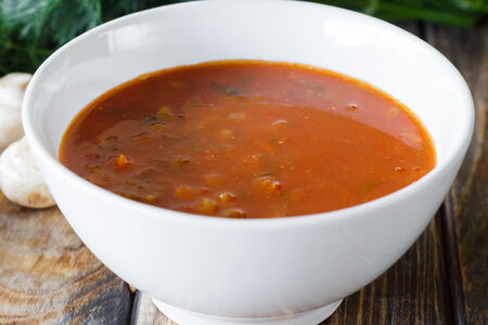 Суп Итальянский с чечевицей