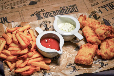 Закуска Fish'n chips