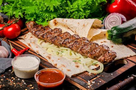 Кебаб из баранины и телятины