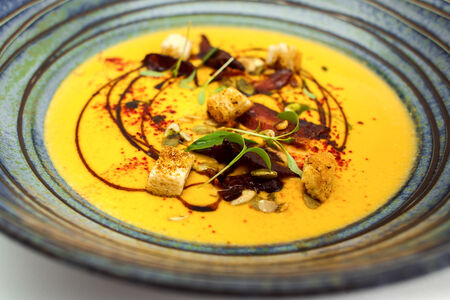 Крем-суп тыквенный
