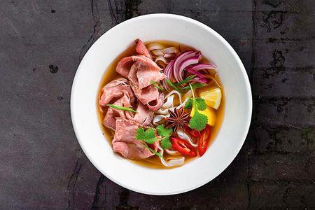 Суп Вьетнамский Фо Бо с говядиной