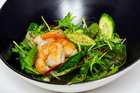 Салат Зеленый с лаймовой заправкой