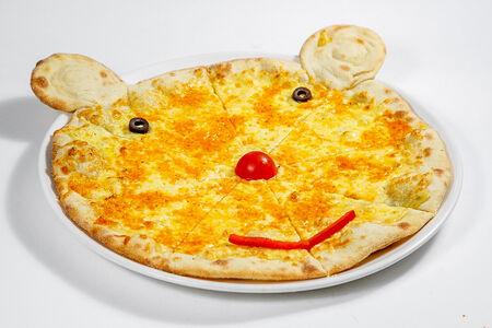Детская пицца Три сыра