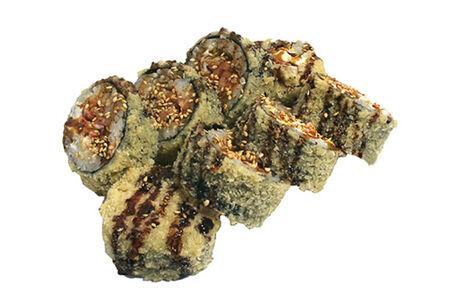 Роллы темпура Хокайдо с лососем
