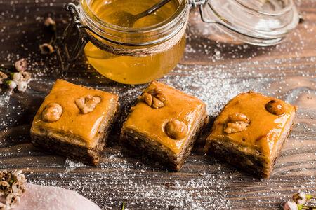 Пахлава с медом и фундуком