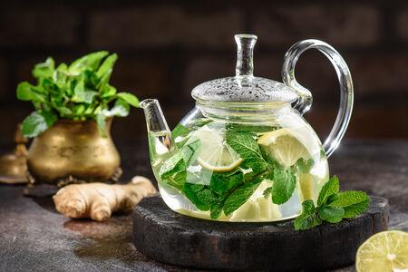 Чай Мята-имбирь