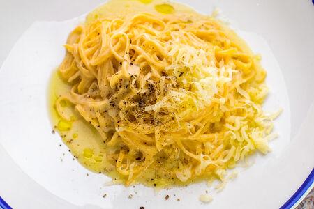 Паста Тальолини с сыром и перцем