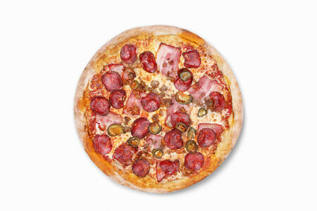 Пицца Мясная халапеньо