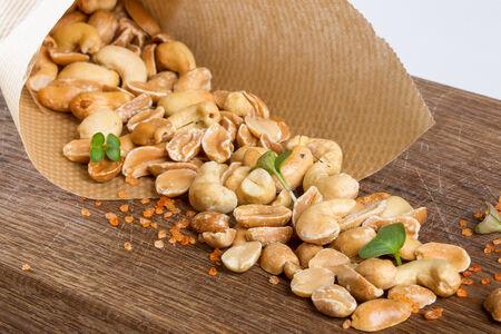 Подкопченные орешки