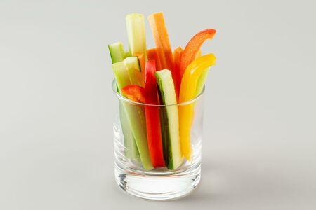 Овощной стаканчик