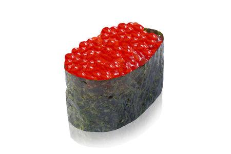 Суши красная икра лосося