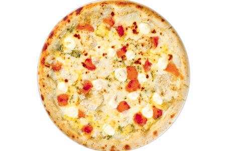Пицца Четыре сыра пышная