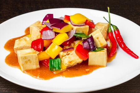 Тофу с чили