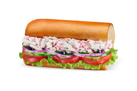 Сэндвич с морепродуктами