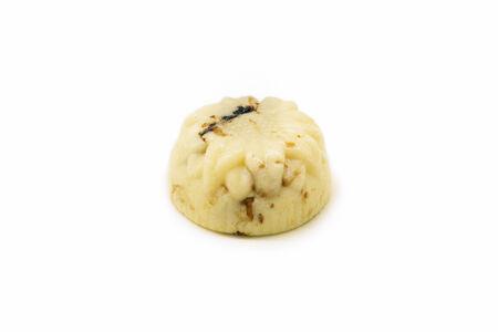 Бурфи с черносливом и грецким орехом