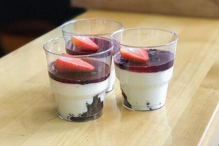 Десерт Панна котта