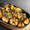 Фото к позиции меню Жареный картофель с луком и грибами