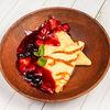 Фото к позиции меню Блинчики томленые с ягодами