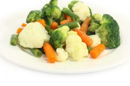 Овощи паровые