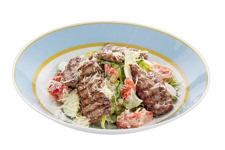 Салат с мини-стейками