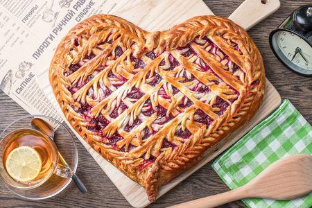Пирог Сердце