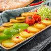 Фото к позиции меню Овощи жареные по-бакински на сковороде