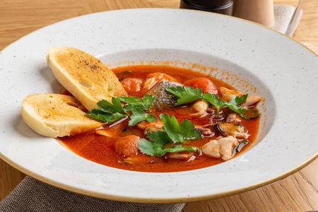 Томатный суп по-средиземноморски