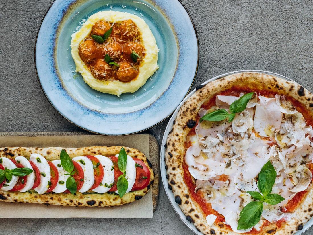 Pizza & Polpette