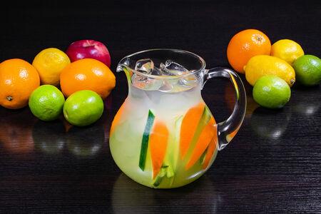 Лимонад Огуречный с апельсином