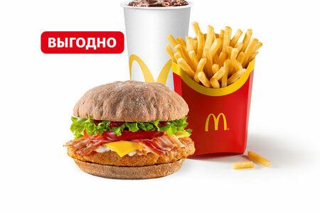 Чикен А-ля Рус с беконом Большой МакКомбо