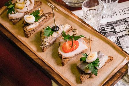Буфетный набор бутербродов