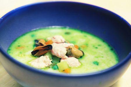 Скандинавский рыбный суп