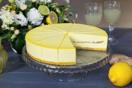 Чизкейк Лимон и имбирь