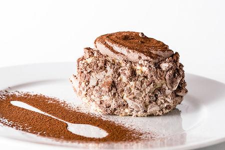 Десерт Мадам Безе шоколадный