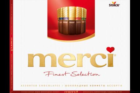Набор шоколадных конфет Merci Ассорти
