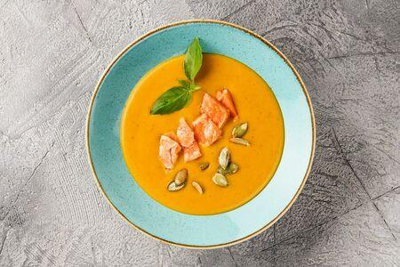 Суп-пюре из морковки