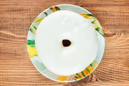 Пончик Белый шоколад