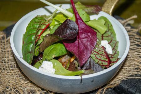 Салат Карамелизированная свекла с орехами