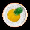Фото к позиции меню Десерт чиа с манго на кокосовом молоке