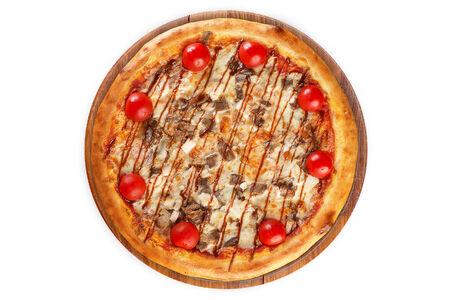 Пицца Барбекю на пышном тесте