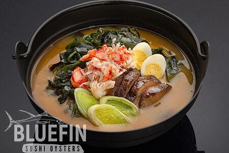 Мисо суп с камчатским крабом