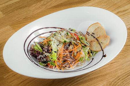 Гранд салат с телятиной и фунчозой